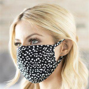 Dalmatian Print Polka Dot Mask